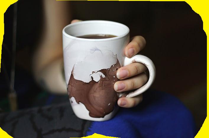 украсить чашку своими руками